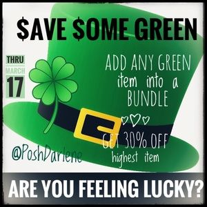 Accessories - Happy St. Patrick's Day Sale